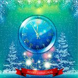 Christmas card. Background Royalty Free Stock Image