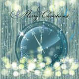 Christmas card. Background Stock Photography