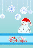 Christmas card. Background Stock Photo