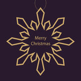 Christmas card background. Stock Image