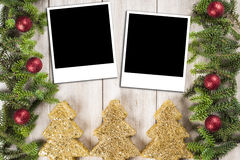 Christmas card background with a space for text Royalty Free Stock Photo