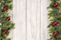 Christmas card background with a space for text Stock Photos