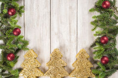 Christmas card background with a space for text Stock Image