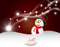 Christmas card background vector illustration Stock Photography