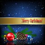 Christmas card Stock Photos
