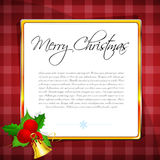 Christmas card with cherry Stock Photo