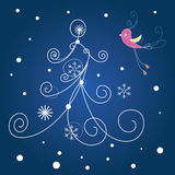 Christmas card,Christmas background Royalty Free Stock Photography