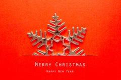 Christmas card with Christmas decoration. Vintage Christmas card with Christmas decoration Royalty Free Stock Photos