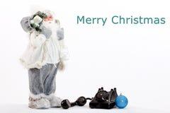Christmas card .christmas decoration, holiday concept. Picture of a christmas card .christmas decoration, holiday concept Royalty Free Stock Image