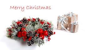 Christmas card .christmas decoration, holiday concept. Picture of a christmas card .christmas decoration, holiday concept Royalty Free Stock Photo