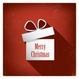 Christmas card with christmas presents eps10 Stock Photo
