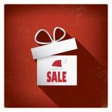 Christmas card with christmas presents eps10 Stock Photography