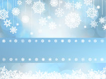 Christmas card with christmas snowflake. EPS 8 Royalty Free Stock Image