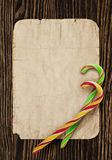 Christmas card. Christmas closeup on wooden background royalty free stock photos