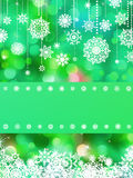 Christmas card colorful bokeh of lights. EPS 8. Christmas card template with Colorful bokeh of lights. EPS 8 vector file included Royalty Free Stock Images