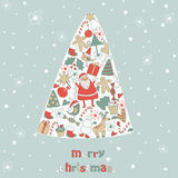 Christmas card Royalty Free Stock Image
