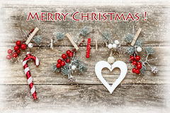 Christmas card Royalty Free Stock Photography