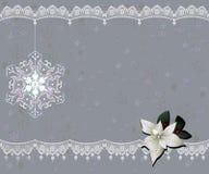 Christmas card. Decorative Christmas card,  illustration Royalty Free Stock Photos