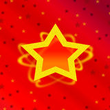 Christmas card design Royalty Free Stock Image