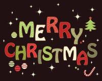 Christmas card design Stock Photos