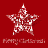 Christmas Card Design vector illustration