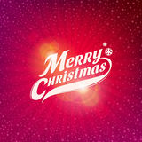 Christmas card design Stock Images