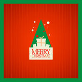 Christmas card design. Stock Images