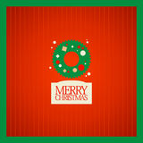 Christmas card design. Stock Photography