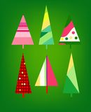 Christmas card design. Cute stylized design for Christmas cards etc Royalty Free Stock Photography