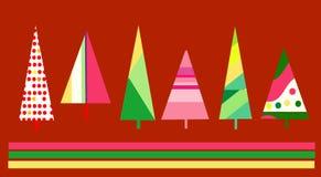 Christmas card design. Cute stylized design for Christmas cards etc vector illustration