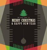 Christmas card design concept Stock Photo