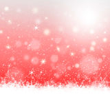 Christmas card design in red background Royalty Free Stock Photography