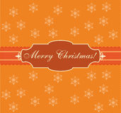 Christmas card, design, vector, illustration Stock Images