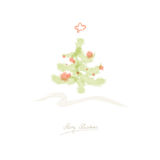 Christmas card Stock Photography