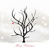 Christmas card design Royalty Free Stock Photo