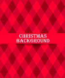 Christmas card fir-tree template. Christmas card template with christmas tree in the circle Stock Images