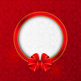 Christmas card with frame Royalty Free Stock Photo