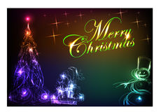 Christmas card-08 Royalty Free Stock Photo