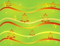 Christmas card gift background  illustration Stock Photo