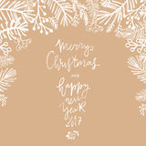 Christmas card1 Royalty Free Stock Photo
