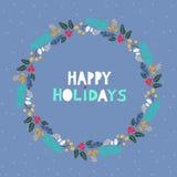 Christmas card166 Stock Image