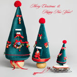 Christmas Card. handmade Royalty Free Stock Images