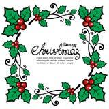 Christmas card-02 Stock Image
