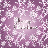 Christmas card illustration Stock Images