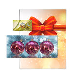 Christmas card illustration Royalty Free Stock Images