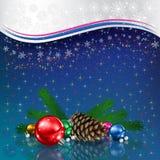 Christmas card illustration Stock Image