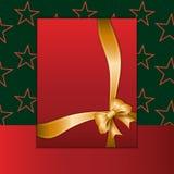 Christmas card or invitation Stock Photography