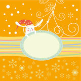 Christmas card, new year card Royalty Free Stock Photo