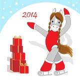 Christmas card 2 Royalty Free Stock Photos