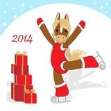 Christmas card 2 Stock Photo